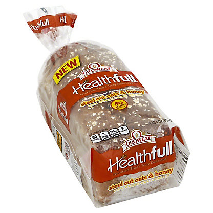 Oroweat Healthfull Steelcut Oats & Honey Bread,20 OZ