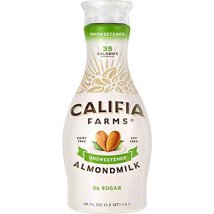 Califia Farms Unsweetened Pure Almond Milk, 48 oz