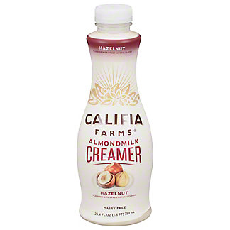 Califia Farms Hazelnut Almond Milk Creamer, 25.4 oz