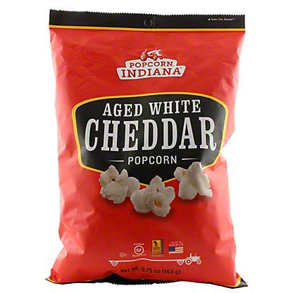 Popcorn indiana Aged White Cheddar, 5.75 oz