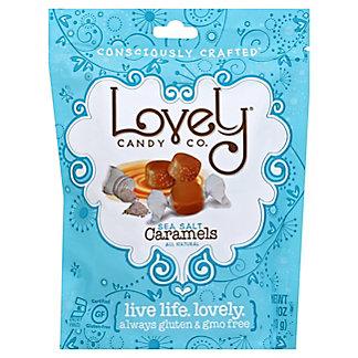 Lovely Candy Sea Salt Caramels, 6 oz
