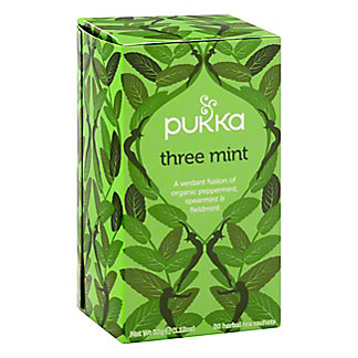 Pukka 3 Mint Herbal Tea, 20.00 ea