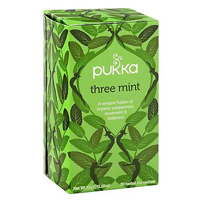 Pukka 3 Mint Herbal Tea, 20.00 ea