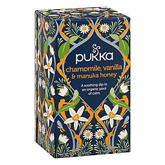 Pukka Chamomile, Vanilla and Manuka Honey Tea, 20 ct