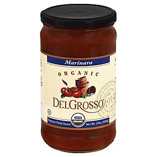 DelGrosso Organic Pasta Sauce Marinara, 24 oz