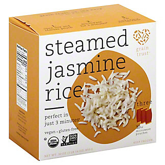 Grain Trust Steamed Jasmine Rice, 30 oz