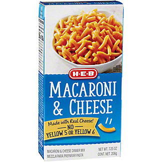 H-E-B Macaroni and Cheese, 7.25 oz