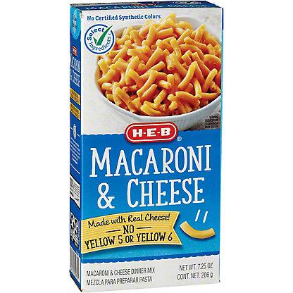 H-E-B Macaroni and Cheese, 7.25 oz