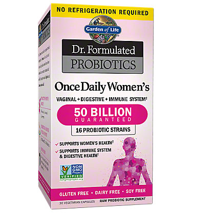 Garden of Life DR Formulated Probiotic Once Daily Womens, 30 ct
