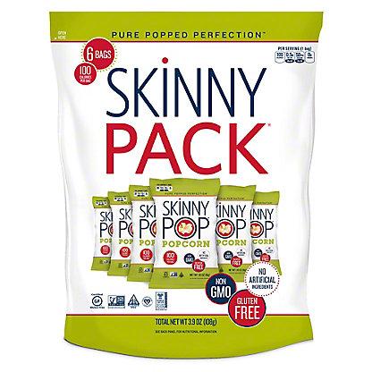 SkinnyPop Original 100 Calorie Bags, 6 ct