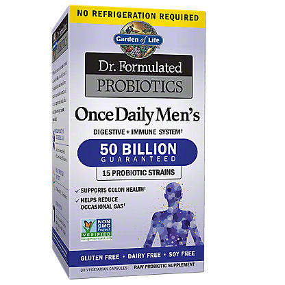 Garden of Life Dr. Formulated Probiotics, Once Daily Men's,30 CT
