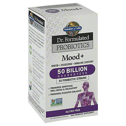 Garden of Life DR Formulated Probiotic Mood Plus,60 CT