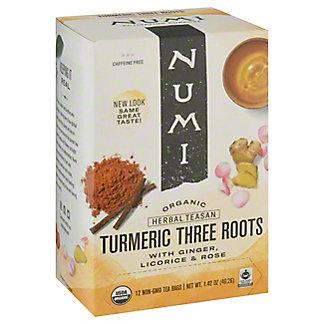 Numi Organic Turmeric Tea Three Root, 1.42 oz