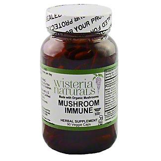 Wisteria Naturals Mushroom Immune 525mg, 90 CT