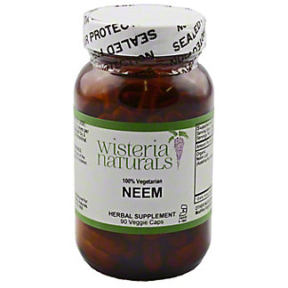 Wisteria Naturals Neem, 90 CT