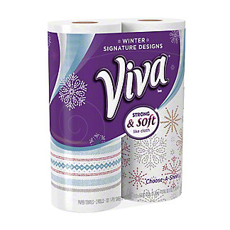 Viva Signature Designs Choose-a-Size Paper Towels, 2 ct