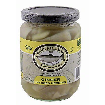 Blue Hill Bay Ginger Infused Herring, 12 OZ