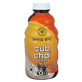 David Rio Cub Chai Microbrew Concentrate, 32 OZ