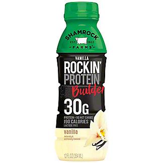 Shamrock Farms Rockin' Refuel Protein Milk Vanilla Lactose Free,12 oz