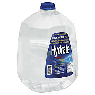 Hydrate Alkaline Water High PH 9+, 1 GL