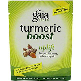 Gaia Herbs Tumeric Boost Uplift Packet, .16 oz