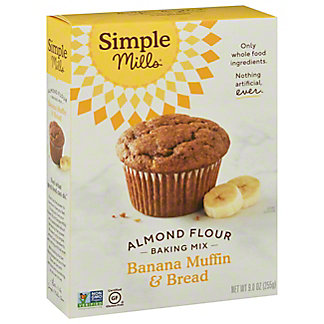 Simple Mills Banana Muffin and Bread Almond Flour Mix, 9 oz