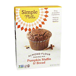 Simple Mills Simple Mills Pumpkin Muffin Almond Flour Mix,9 OZ