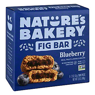 Natures Bakery Blueberry Fig Bar,6 ea