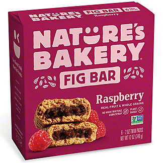 Natures Bakery Raspberry Fig Bar,6 ea