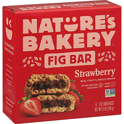 Natures Bakery Strawberry Fig Bar,6.00 ea