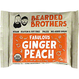 BEARDED BRO GINGER PEACH BAR