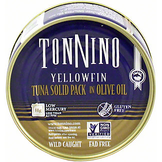 Tonnino Tuna Fillet In Olive Oil, 4.94 oz