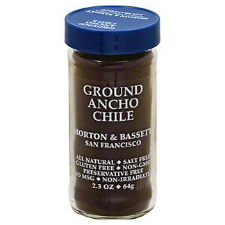 Morton & Bassett Ground Ancho Chile, 2.30 oz