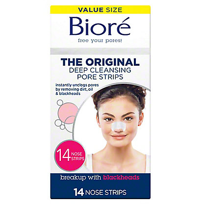 Biore Deep Cleansing Pore Strips, 14 ct