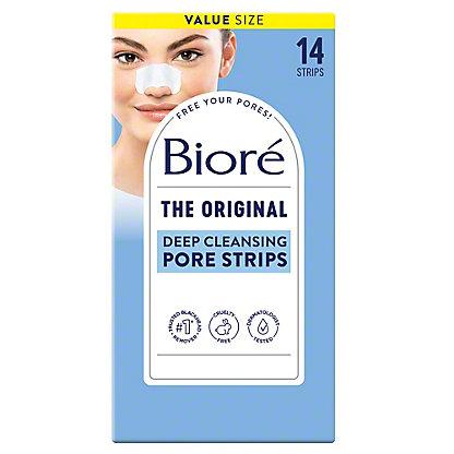 Biore Deep Cleansing Pore Strips, 14 ct