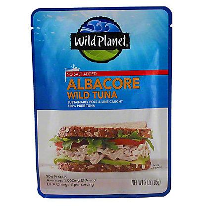 Wild Planet Albacore Wild Tuna - No Salt Added,3.00 'oz'
