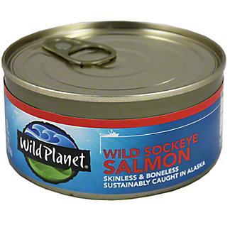 Wild Planet Wild Sockeye Salmon,6.00 'oz'