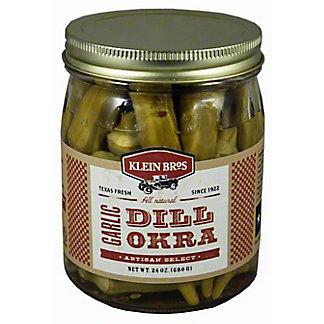Klein Bros Artisan Select Garlic Dill Okra, 24.00 oz