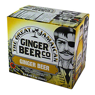 Great Jamaican Ginger Beer Co. Ginger Beer 6 PK,6.00 ea