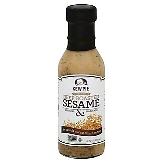 Kewpie Deep Roasted Sesame Dressing & Marinade, 12 oz
