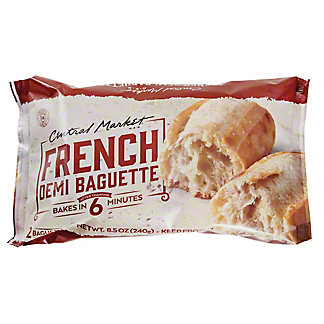 Central Market French Demi Baguette, 8.5 oz