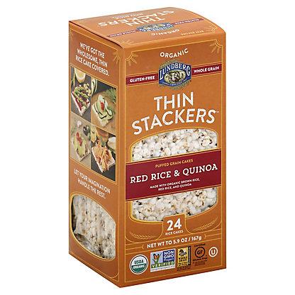 Lundberg Organic Thin Stackers Red Rice & Quinoa,5.9 OZ