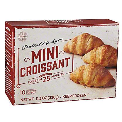 Central Market Mini Croissant, 10 ct