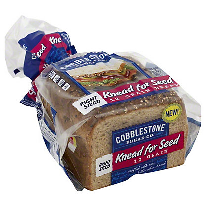 Cobblestone Bread Co. Knead For Seed, 12 Grain Bread,18 OZ