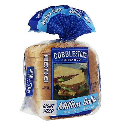 Cobblestone Bread Co. Million Dollar White Bread,18 OZ