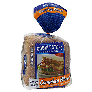 Cobblestone Bread Co. Complete Wheat, 100% Whole Wheat Bread,18 OZ