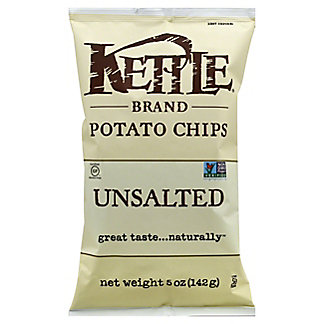 Kettle Unsalted Potato Chips, 5 oz