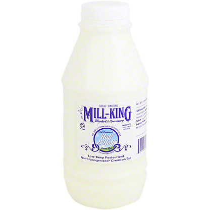 Mill King Half & Half,16 oz