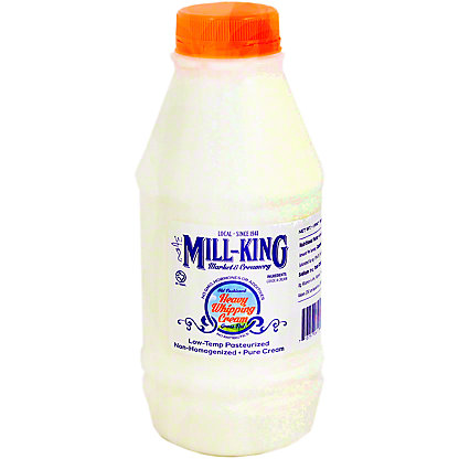 Mill King Heavy Whipping Cream, 16 oz