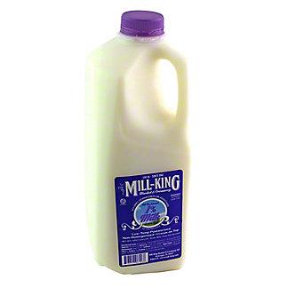 MILL KING Mill King 1% Milk Half Gallon,0.5GL